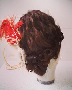 XVIII Century hairstyle