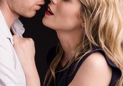 Reaching for a kiss