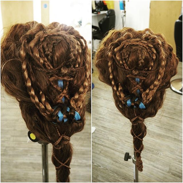 Renaissance hairstyle