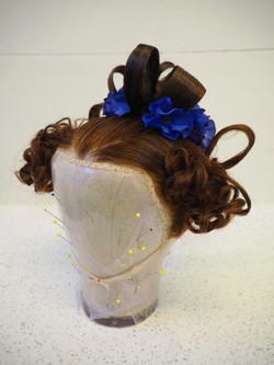Apollo Knots. Victorian Hairstyle