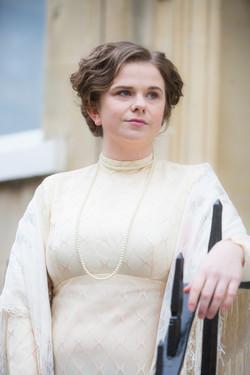 Young Edwardian bride