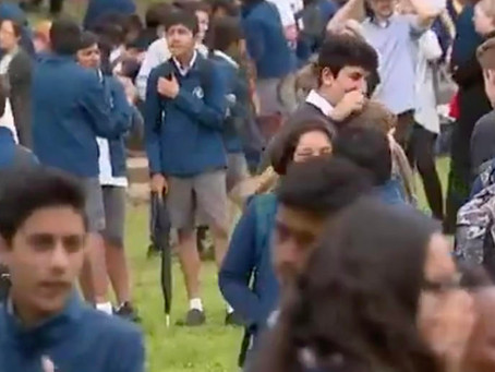 Sydney school evacuated due to fire in classroom