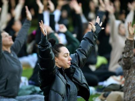 Sydney eases into World Meditation Day