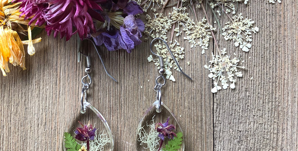 Elderflower, Moss, Fireweed & Fern