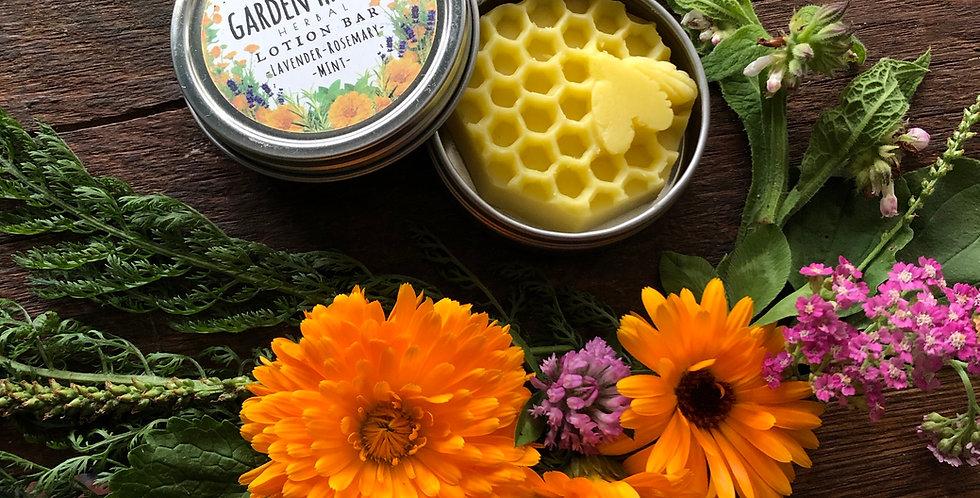 GardenHands - Herbal Lotion Bar