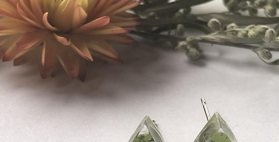 Fern - Itty Bitty Botanical Studs
