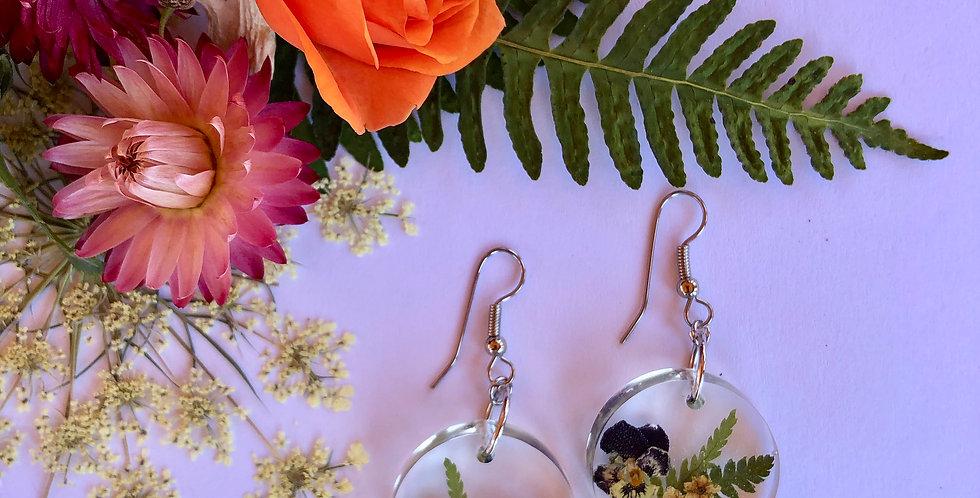 Mugwort, Elderflower, Fern & Viola