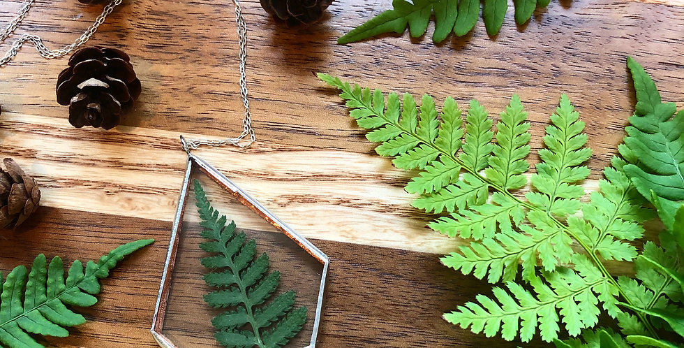 Fern - Made to Order - Glass Pendant