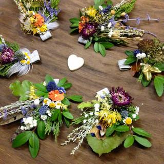 Wedding party adornments