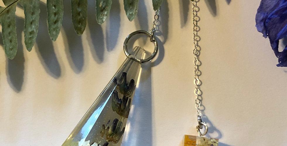Lavender & Chamomile - Plant Pendulum
