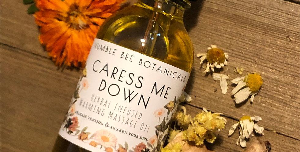 Caress Me Down - Warming Massage Oil