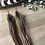 Thumbnail: Iridescence - Long Feather Earrings