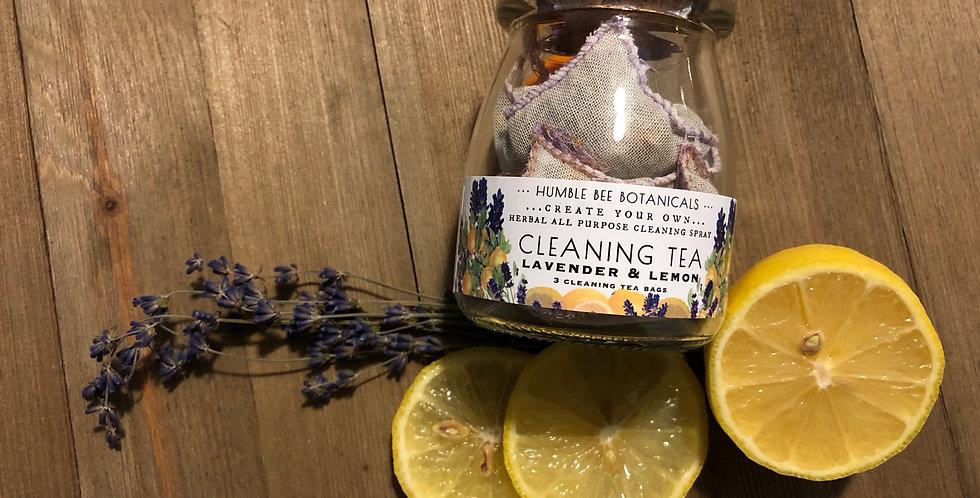 Lavender & Lemon Peel Cleaning Tea
