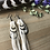 Thumbnail: Peaceful Dove - Medium/Long Feather Earrings