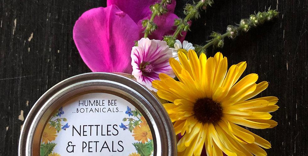 Nettles & Petals - Herbal Oil Cleanser Sugar Scrub
