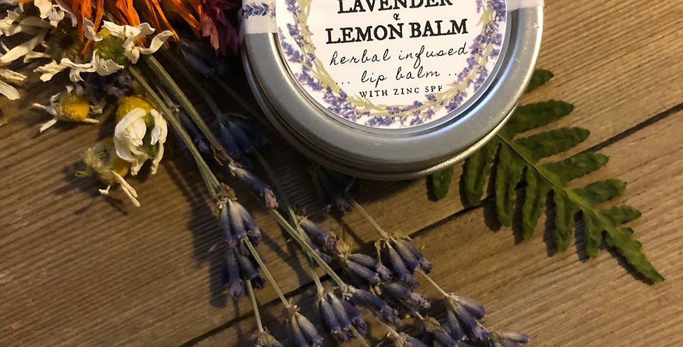 Lavender & Lemon Balm Lip Balm