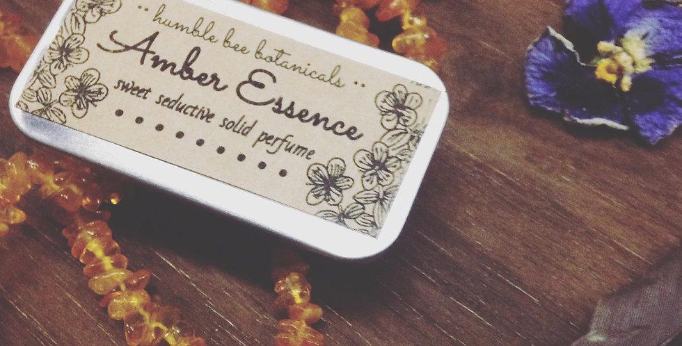 Amber Essence - Sweet & Seductive Semi-Solid Perfume