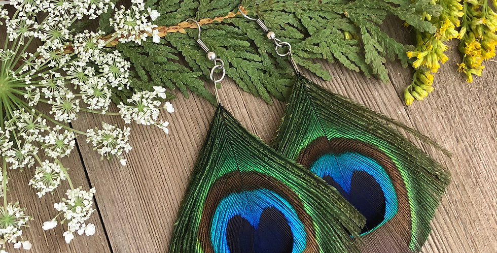 Diamond Cut - Peacock Feathers