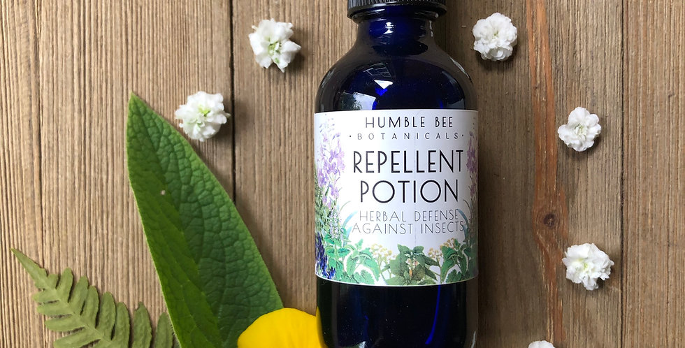 Repellent Potion - Herbal Defense Against Insects