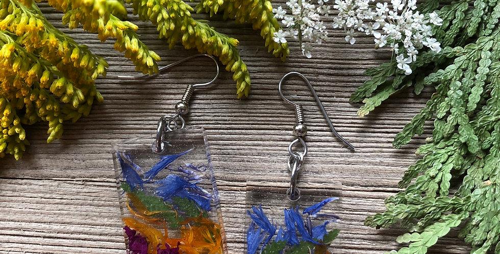 Natures Rainbow - Handpicked Botanical Earrings