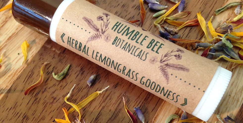 Herbal Lemongrass Goodness Lip balm