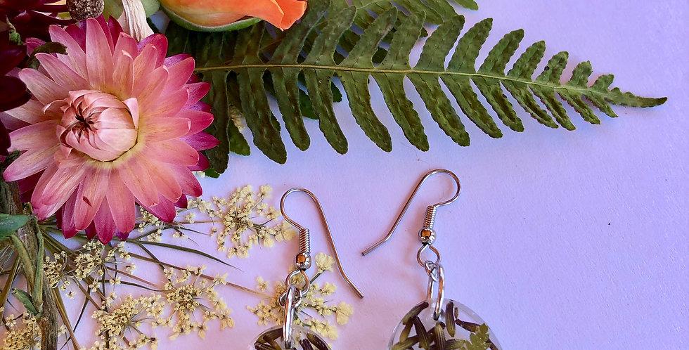 Lavender, Queen Annes Lace & Fern