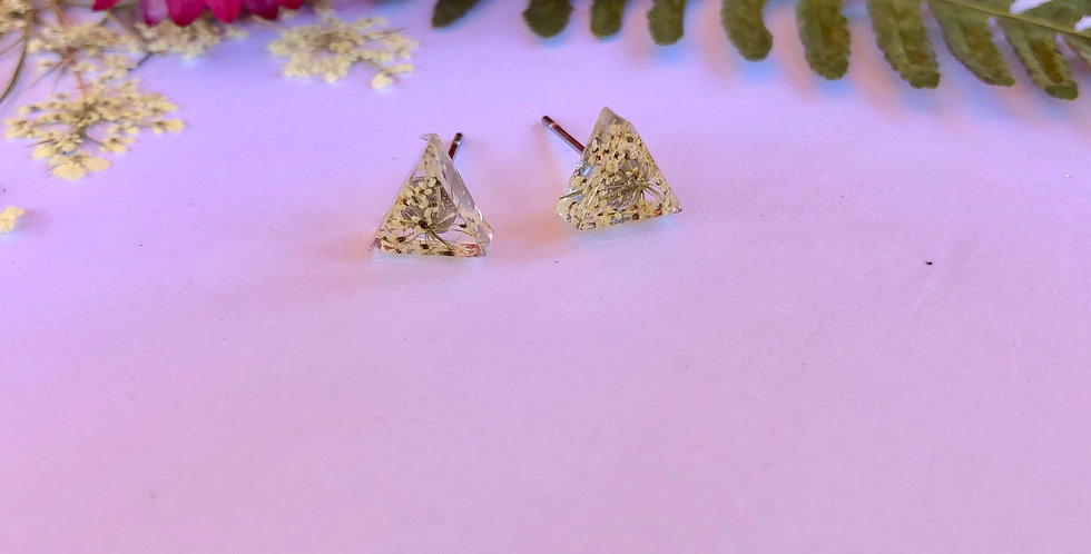 Queen Anne's Lace - Itty Bitty Botanical Studs