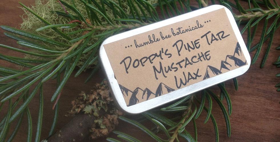 Poppy's Pine Tar Mustache Wax