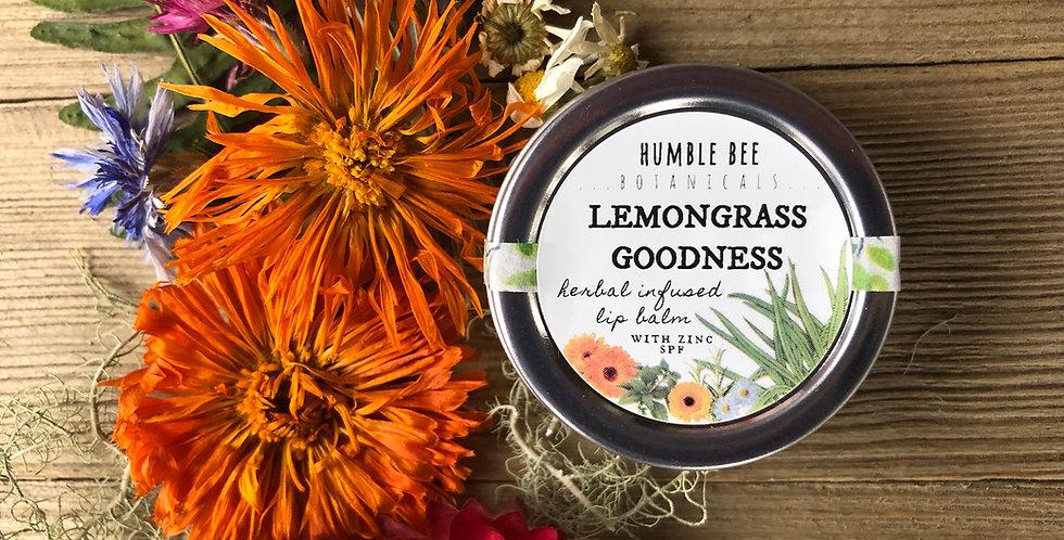 Herbal Lemongrass Goodness - Lip Balm