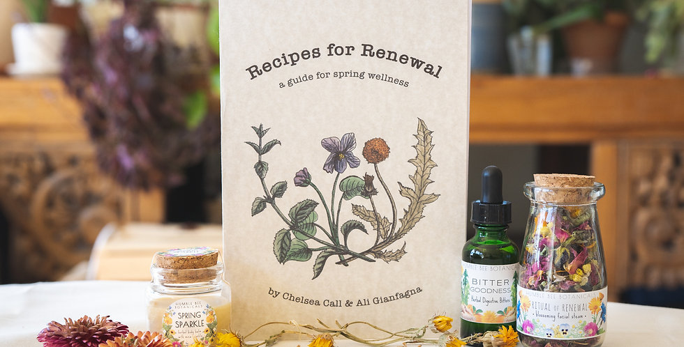 Recipes for Renewal - Spring Collection + Wellness Guide