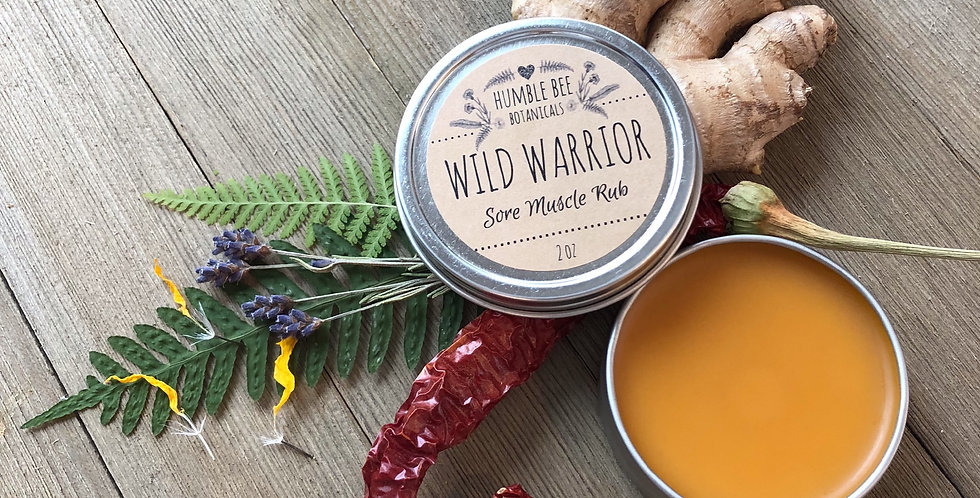 WILD WARRIOR Sore Muscle Rub
