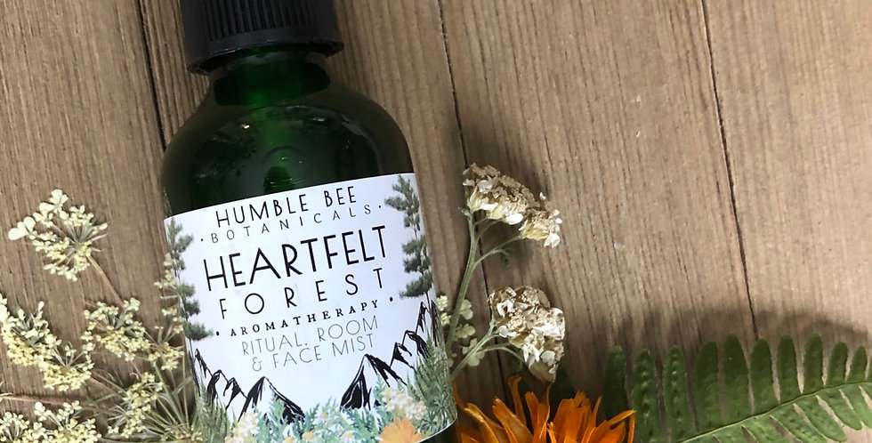 Heartfelt Forest - Aromatherapy & Ritual Spray