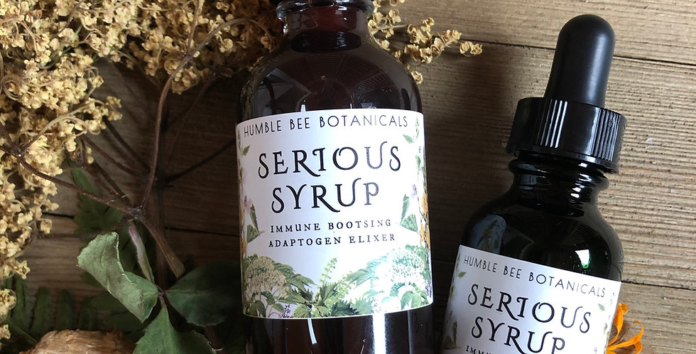 Serious Syrup Immune Boosting Adaptogen Support