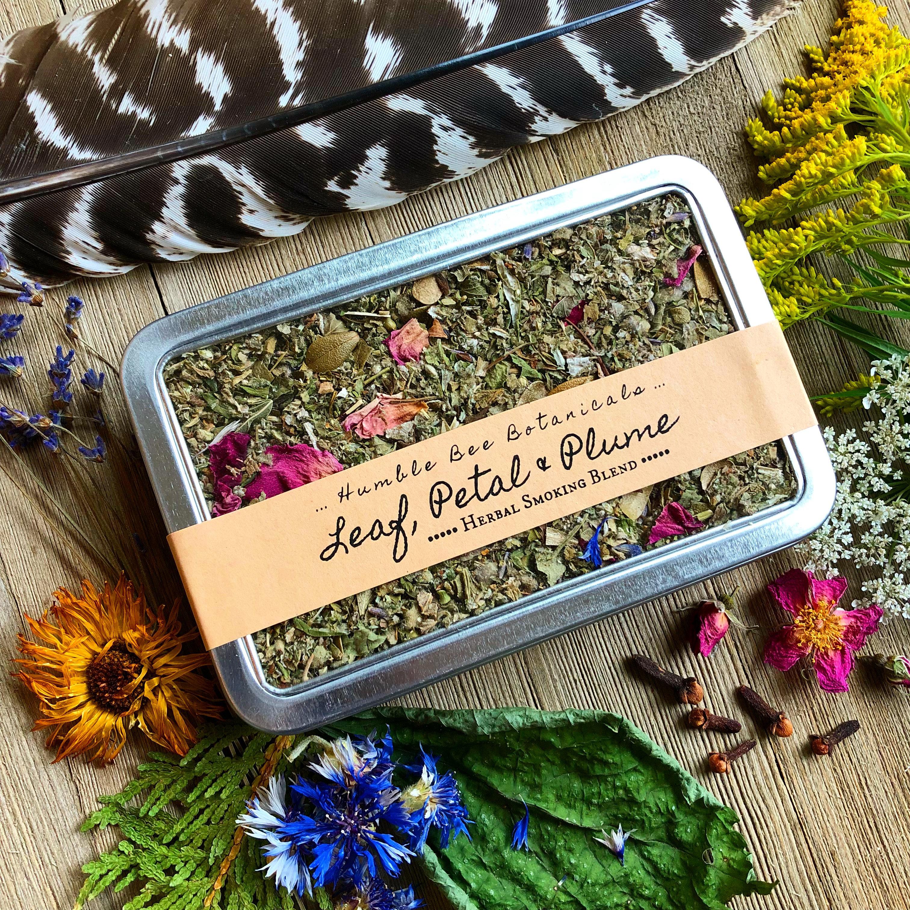 Leaf, Petal & Plume - Herbal Smoking Blend