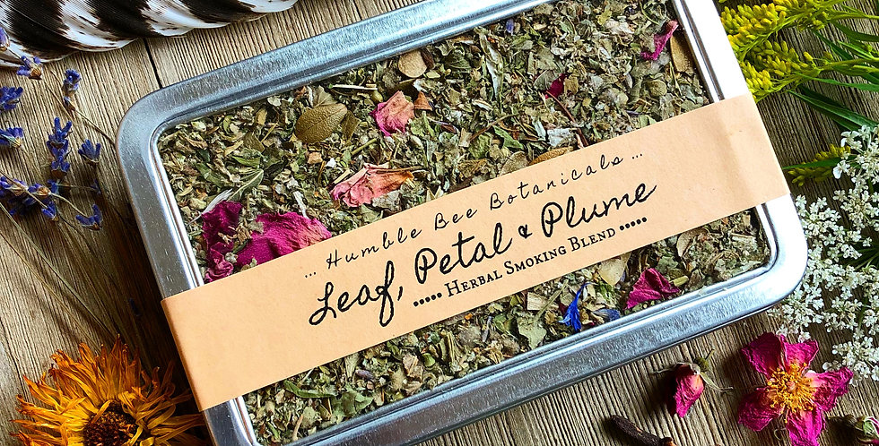 Leaf, Petal & Plume - Herbal Smoking Blend