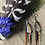 Thumbnail: Copper Coyote - Small Feather Earrings