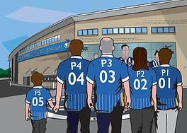 Brighton FC - Family 5 Adults 1 kid Walk