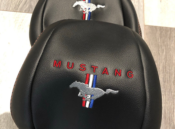 Tri Band Mustang Logo