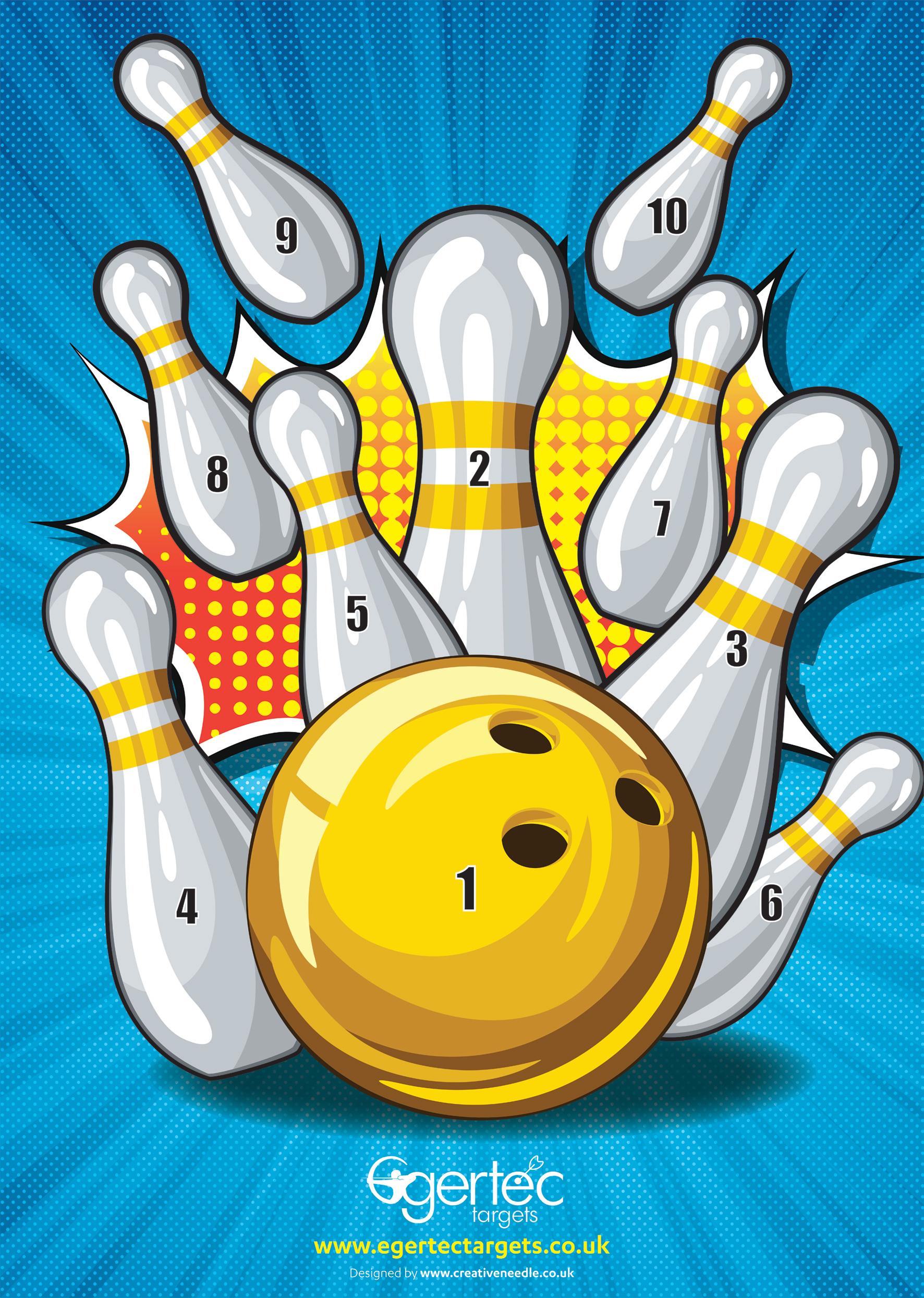 Bowling Target Visual