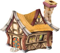 The Cottage Illustration