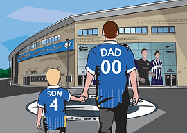 Brighton FC - Dad-Son Walking Family 2.p