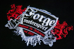 FORGE Motorsport Embroidery