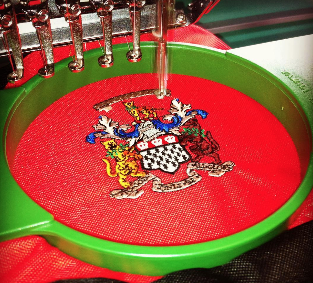 Embroidery Machione sew out