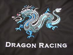 Dragon Racing Racing Seat Embroidery