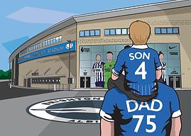 Brighton FC - Family 2 - Child On Should