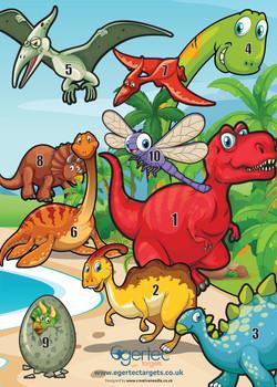 Dinosaur Target Visual