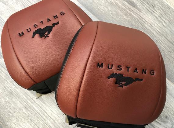 Mustang Black on Brown