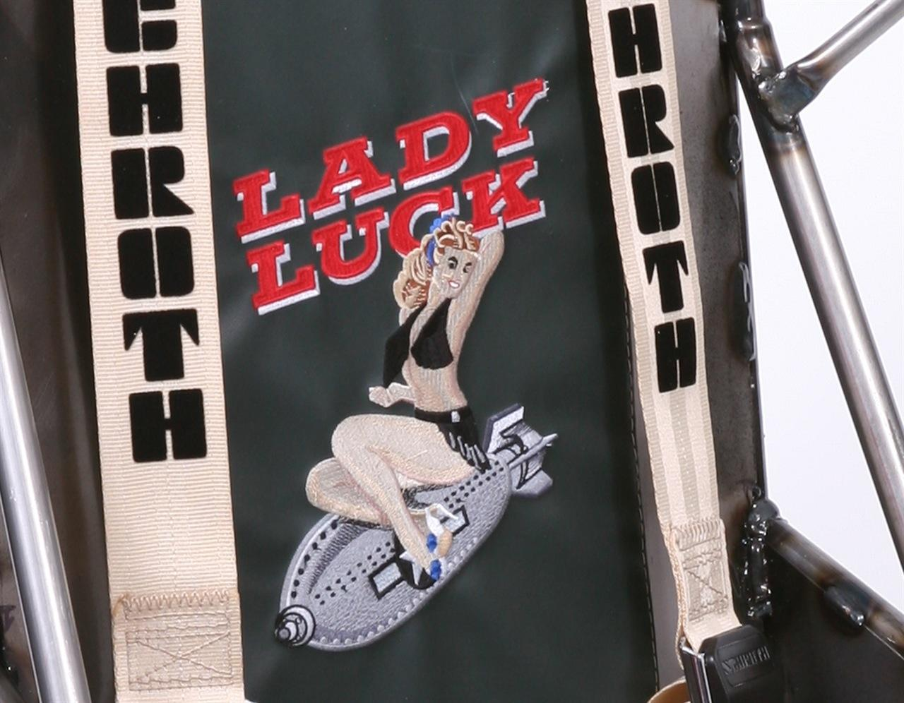 Lady Luck Racing Seat Design