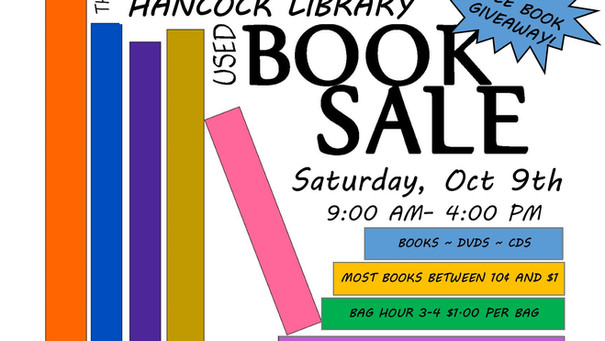 Annual Book Sale and Free Book Giveaway!