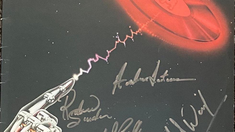 Camel A Live Record LP Cover Autographed